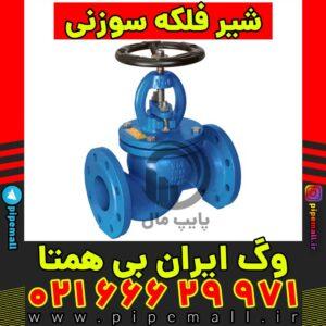شیر فلکه سوپاپی یا سوزنی وگ ایران بی همتا